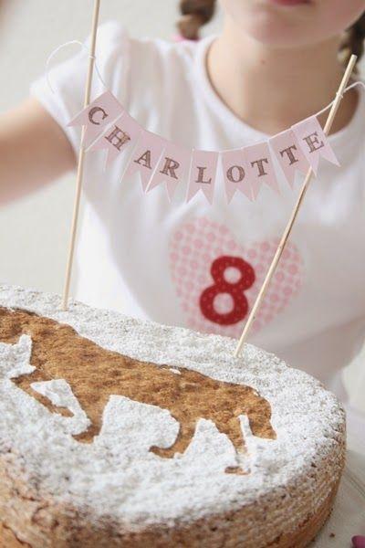 Am Samstag hat Charlotte ihren 8. Geburtstag gefeiert. Diesmal hatte sie sich eine Pferdeparty gewünscht und wir haben alles wieder ähnlich… – vera