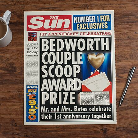 The policeman was reading a newspaper called The Sun, and on the front of  the paper it said  £3m Anderson's Call Girl Shame and it had a picture of a man and a picture of a lady in a bra underneath.