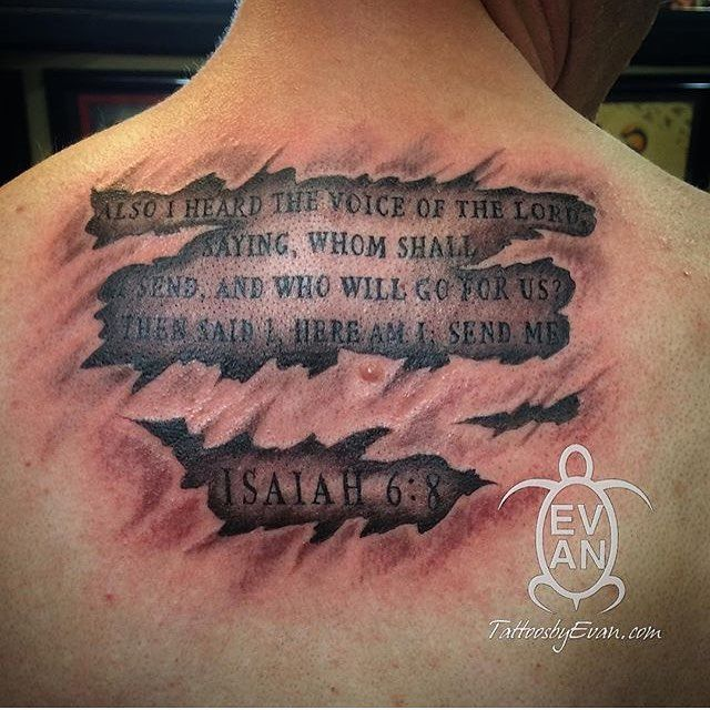 20 Best Bible Verse Tattoo Images On Pinterest
