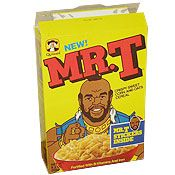 my husband was like remember Mr. T cereal?? How could I have forgotten!