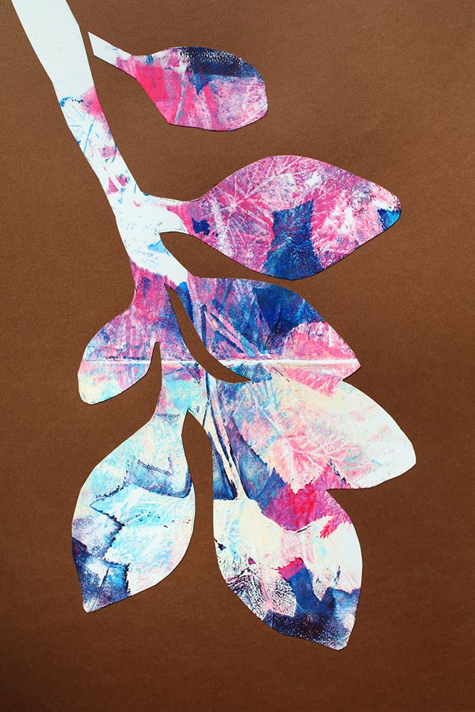 monoprint | acryl | scalpel | 2016 | 08 | 08 Mikael Liljander