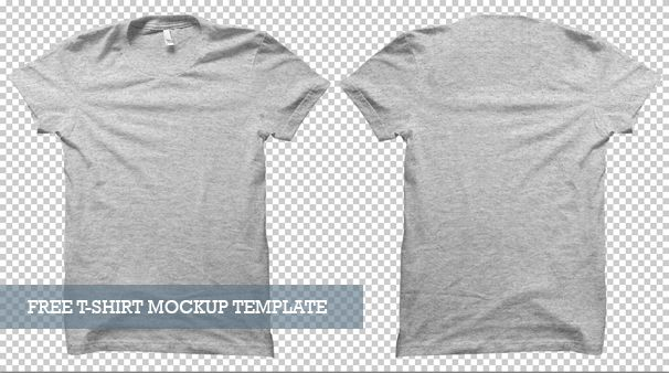 100 T-shirt templates for download that 'rock the Casbah' | Mockup ...