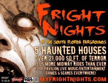 Tick! Tock! Time Flies... Another Expiring Experience from LastMinute Lauderdale: 11th Annual Fright Nights at The South Florida Fairgrounds