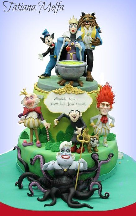"""The Bad"" Cake #disney #villains"
