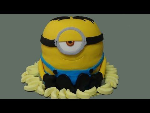 3D Buttercream Minion Cake - How To With The Icing Artist - YouTube