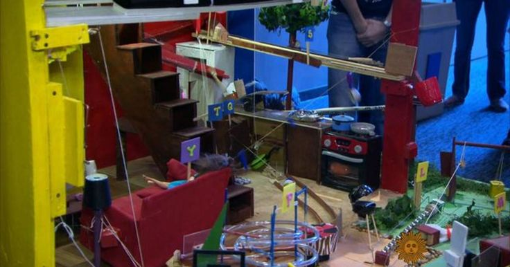 """The popular board game Mousetrap is an example of a """"Rube Goldberg""""-inspired machine, a contraption that contains elaborate mechanisms with a vast array of moving parts to perform a simple function. Mo Rocca visits the Rube Goldberg Machine Contest, where less is never more."""