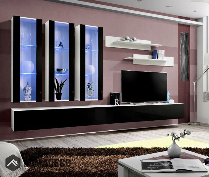 Awesome Modern Wall Units   Living Room Wall Units   Contemporary Wall Units   Wall  Units For