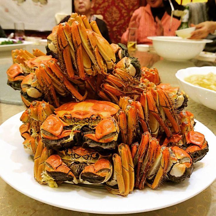 #chinese #cuisine #shanghai #crab #china #dishes #上海 #カニ #レストラン  #中華 #料理 #中国