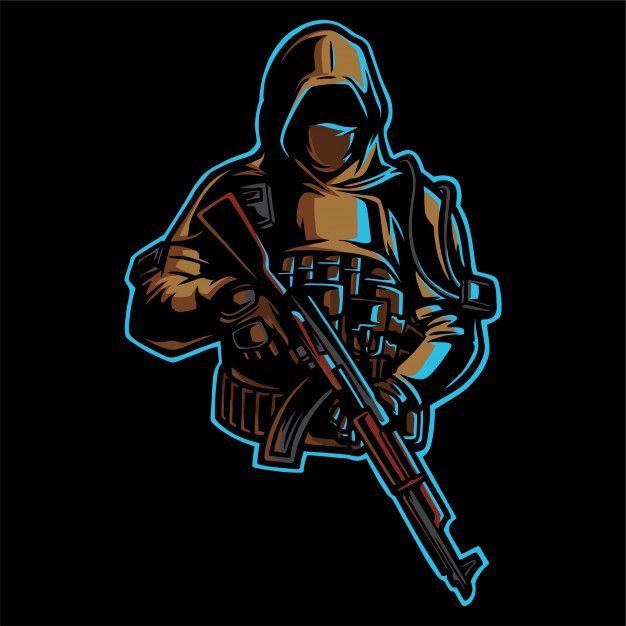 Army Design Logo Design Art Game Logo Design Photo Logo Design