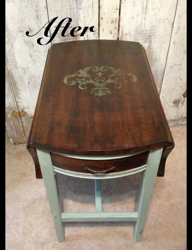 Vintage end table Find me on Facebook. 53 best end table images on Pinterest   End tables  Diy end tables
