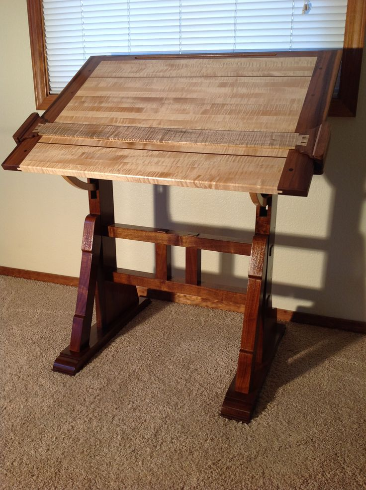 An Architect's Table - www.theunpluggedwoodshop.com