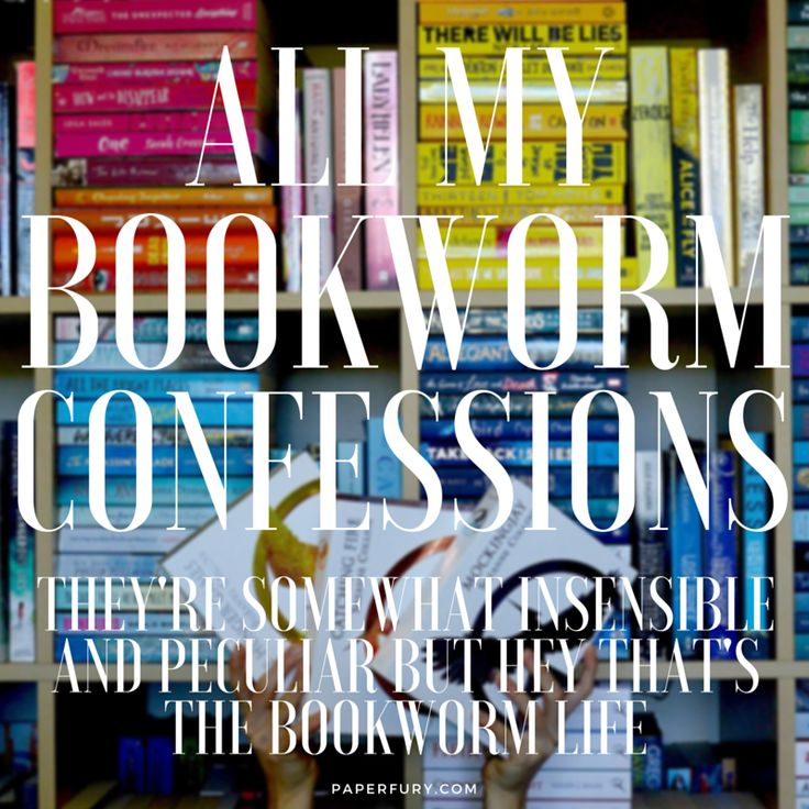 My Peculiar & Somewhat Insensible #BookwormConfessions