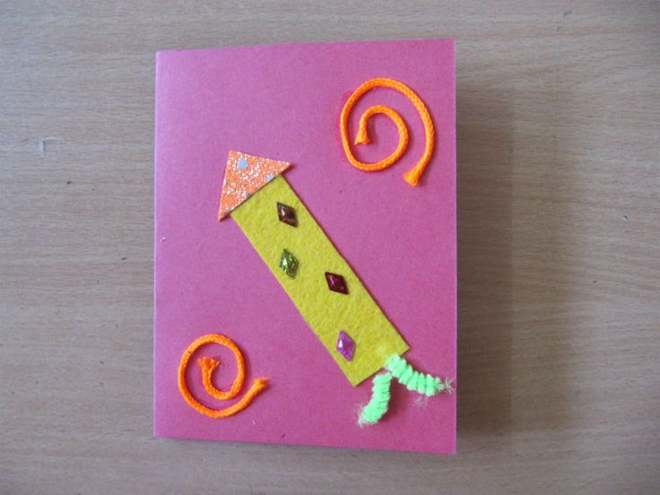 Diwali Craft Ideas For Kids Part - 15: Greeting Cards Are A Sure Shot Way Of Letting Someone Know You Are Thinking  Of Them! Thereu0027s Nothing Better Than Handmade Greeting Cards To Send Your  Wishes ...
