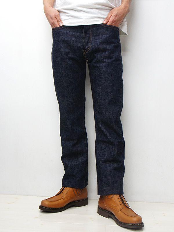 FULLCOUNT(フルカウント) - FULLCOUNT(フルカウント)#1108 STRAIGHT LEGS(スリムストレート)/Indigo Blue(インディゴブルー)ワンウォッシュ【裾上げ無料】 - DUVETICA・CANADA GOOSE・Tricker's・RED WING・Russell Moccasin・LAVENHAM・Paraboot・Whitehouse Cox タイガース・ブラザース本店オンラインショップ 