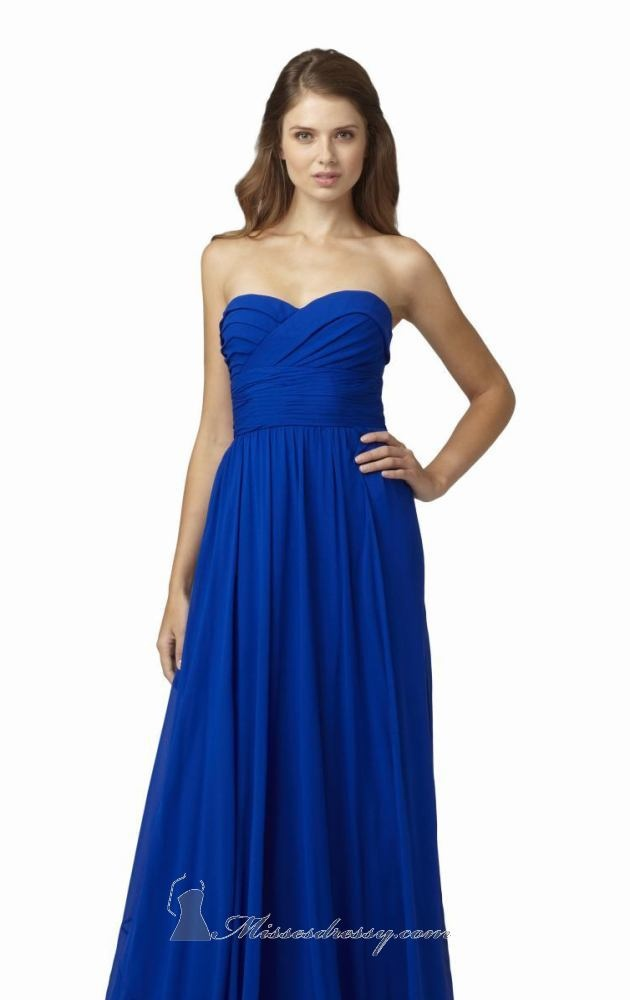 Royal blue Aidan Mattox 43541