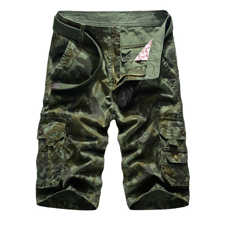 2017 Summer New Casual Camouflage Korte Broek Man Cotton Comfortable Military Shorts