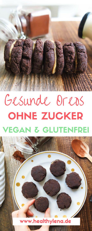 Gesunde Oreos – vegan, glutenfrei & ohne Zucker