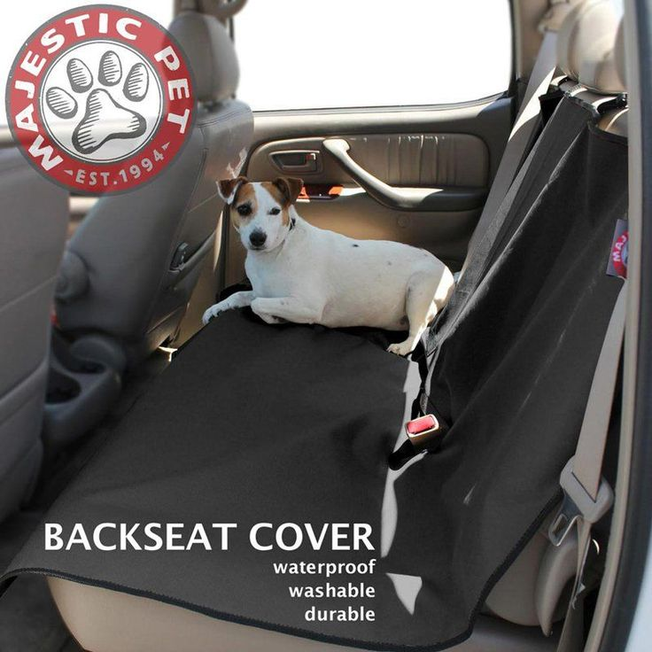 majestic pet products universal waterproof back seat cover 78899500010