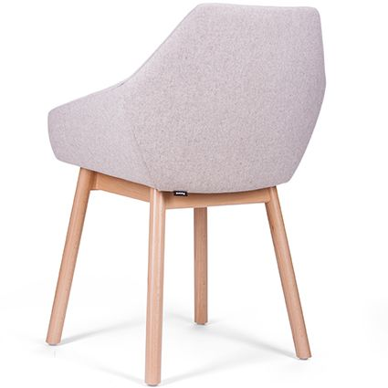 Tuk Tub Chair | Furniture Options. Upholstered bentwood timber armchair.