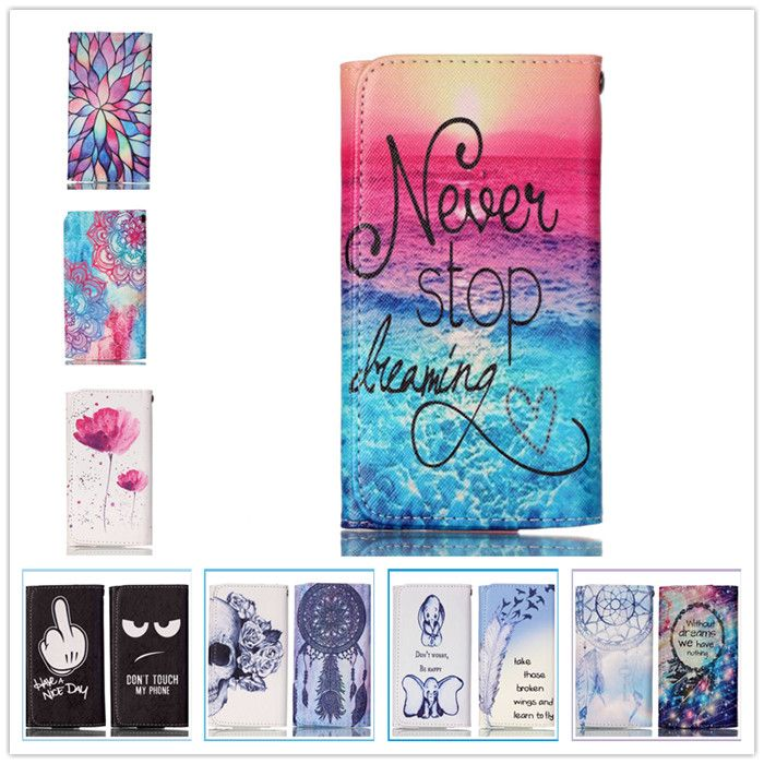 For LEXAND S4A3 PALLADA Case Mobile Phone Case High Quality Fashion Painting Wallet Case For LEXAND S4A3 PALLADA Free shipping