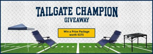Win the Ultimate Tailgate Package - Pop Up Canopy Tent Camp... sweepstakes IFTTT reddit giveaways freebies contests