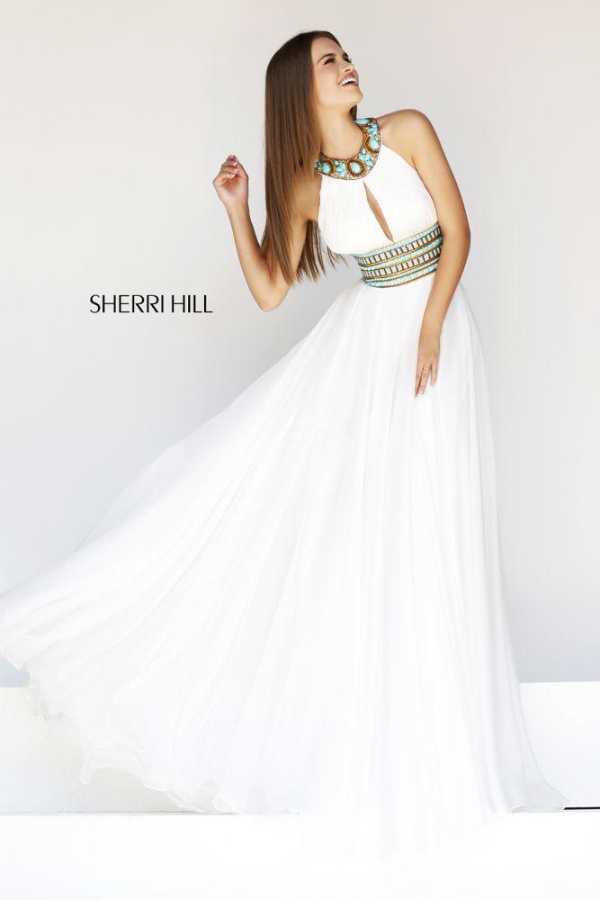 Sherri Hill 11086 :: boho wedding dress
