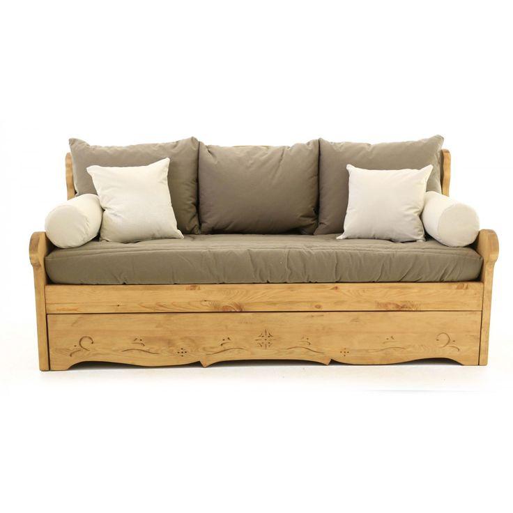 les 25 meilleures id es de la cat gorie canap gigogne sur pinterest parements bleu les. Black Bedroom Furniture Sets. Home Design Ideas