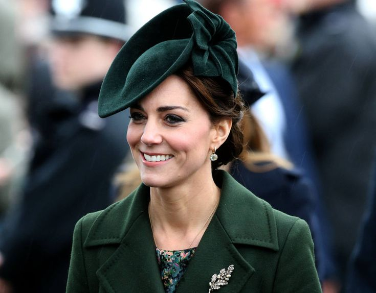 The Duchess of Cambridge arrives to attend the morning Christmas Day service at St Mary Magdalene Church on the Sandringham estate in Norfolk
