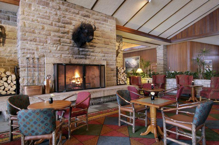 The Emerald Lounge at the Fairmont Jasper Park Lodge