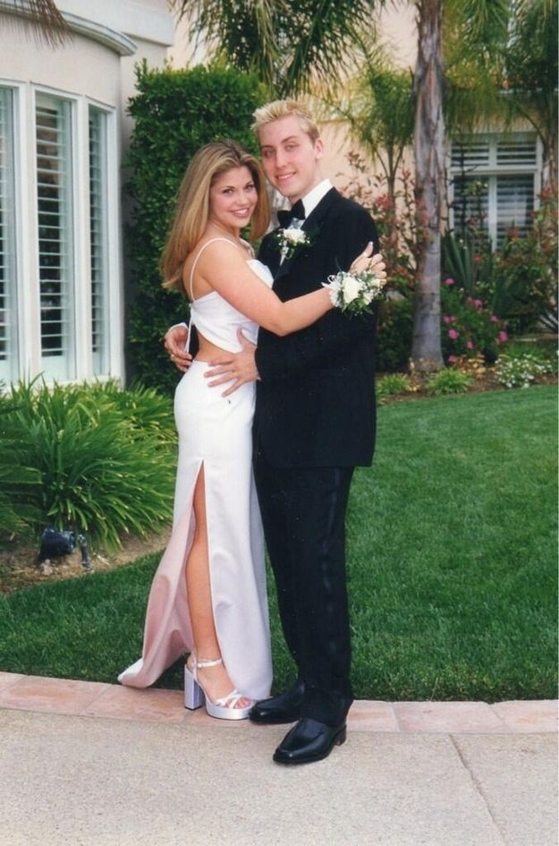 Lance Bass Took Danielle Fishel To Her Senior Prom