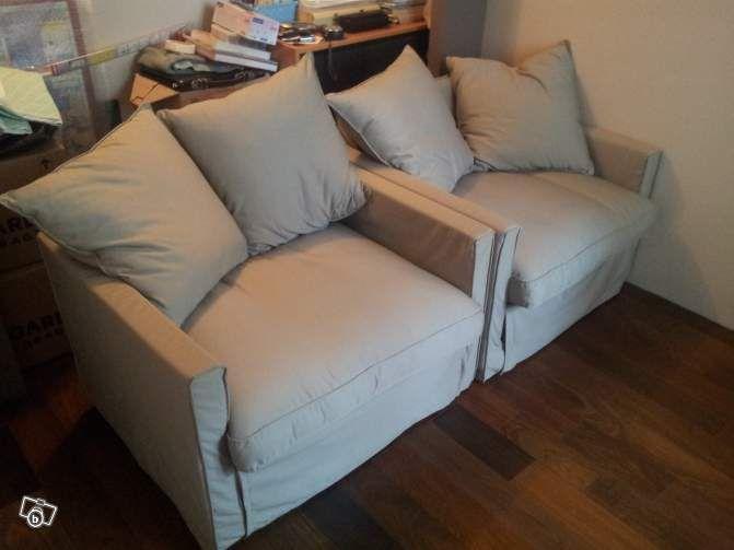 2 fauteuils convertibles harnosand ikea ameublement paris 350 - Fauteuil convertible ikea ...