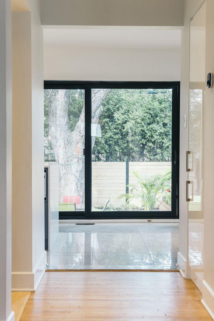 Architecture / Design / Contemporain / Porte-patio / Bois // Interior Design / Contemporary / Patio Door / Wood