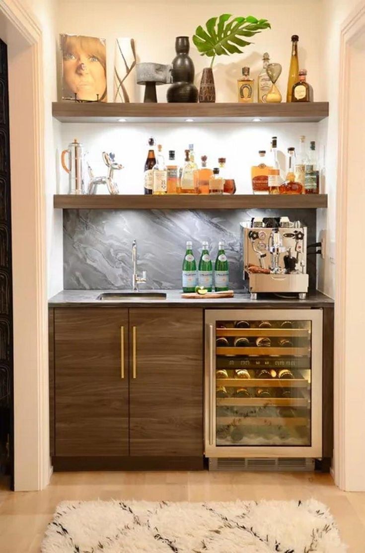 Building Corner Bar For Small Spaces Home Bar Furniture Modern
