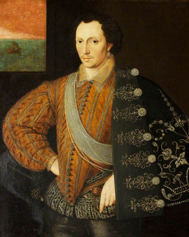 Robert Carey (1560–1639), 1st Earl of Monmouth, son of Henry Carey, grandson of Mary Boleyn  and probably Henry VIII