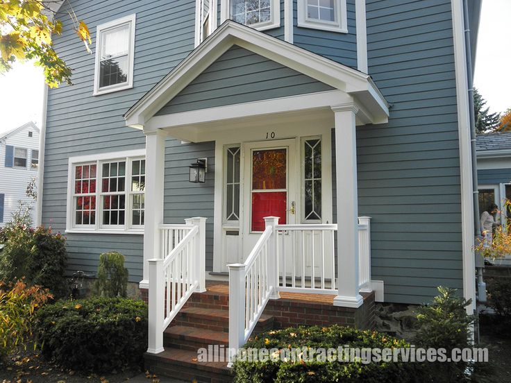 Boothbay Blue Hardie Siding Color Exterior Pinterest