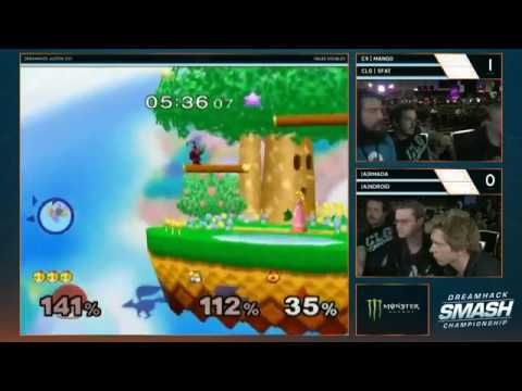 DreamHack Smash 2017 Super Smash Bros Melee Doubles Loser Final and Gran...