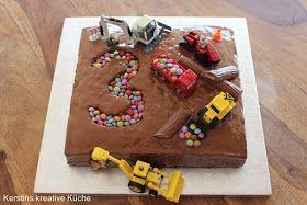 Kerstins kreative Küche: Baustellenkuchen   – Kindergeburtstag