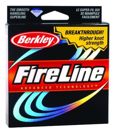 Berkley FireLine Original Fused Fishing Line 125 - yd., SMOKE, 8 LB *** To view further for this item, visit the image link.