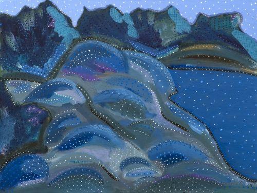 'Killbear' by Kawartha Ontario artist Annabelle Jane Murray. Enchanted light at…