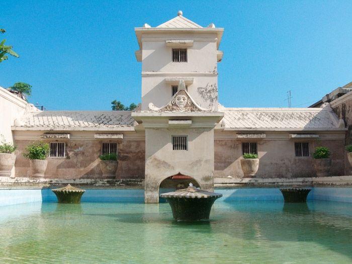 taman sari water castle,yogyakarta,central java