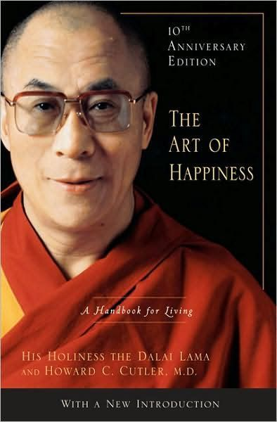 The Art of Happiness 10th Anniversary Edition A Handbook for Living by the Dalai Lama - Happiness book - Meditation book - Mindfulness book - See more of the top 18 books on happiness | #happiness #books #bestbooks #dalailama