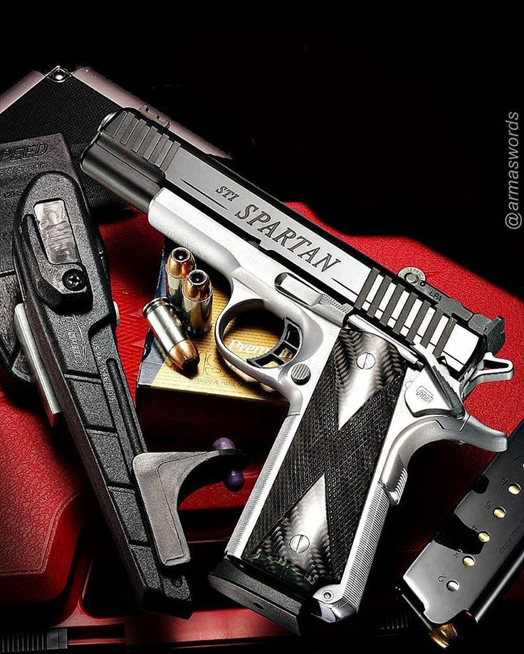 Manufacturer: STI Mod. Spartan Type - Tipo: Pistol Caliber - Calibre: 45 ACP Capacity - Capacidade: 8 Rounds Barrel length - Comp.Cano: 5 Weight - Peso: 1000...