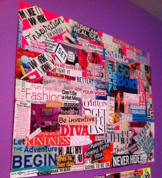 Vision Board Inspiration Law Of Attraction Self Awareness Create The Life You Want Mindfulness Care