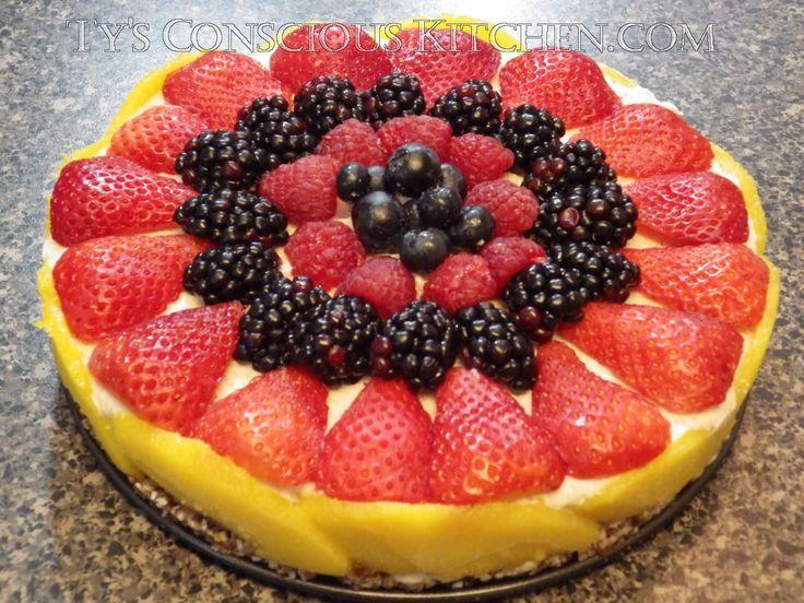 Dr. Sebi Alkaline Electric Brazil Nut Cheesecake by Ty's Conscious Kitchen! #tysconsciouskitchen #drsebi #alkaline #electricfood #vegan #vegetarian #recipes #veganlife #dessert  #cake #nobake