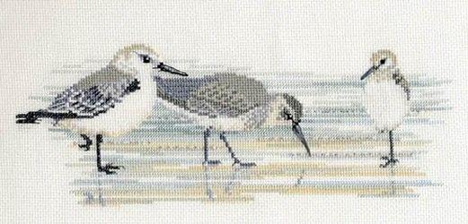 Waders: Cross stitch (Derwentwater Designs, BB03)