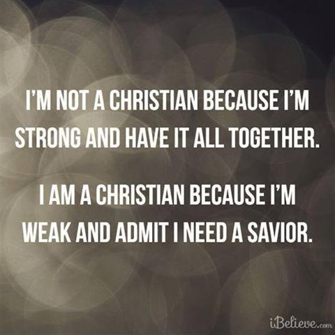 I NEED JESUS EVERY SECOND OF EVERY MINUTE, OF EVERY HOUR, OF EVERY DAY !!!!