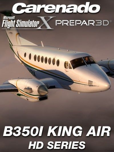 CARENADO : B350I King Air HD Series Special FeaturesVersion 1.1 Original ProLine21 systems:   Primary Flight Display (PFD)   Multi Function Display (MFD)   Flight Guidance Panel (FGP)   Display Control Panel (DCP)   Control Display Unit (CDU)   Flight Management System (FMS) Updatable Navigraph databaseFull FSX, P3D v2, v3, v4, and Steam compatible. NOTE : You don´t need to have a subscription with Navigraph…