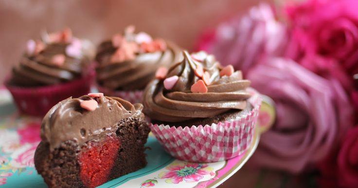 BeautyyyJudyyyy: Valentinstagherzcupcakes