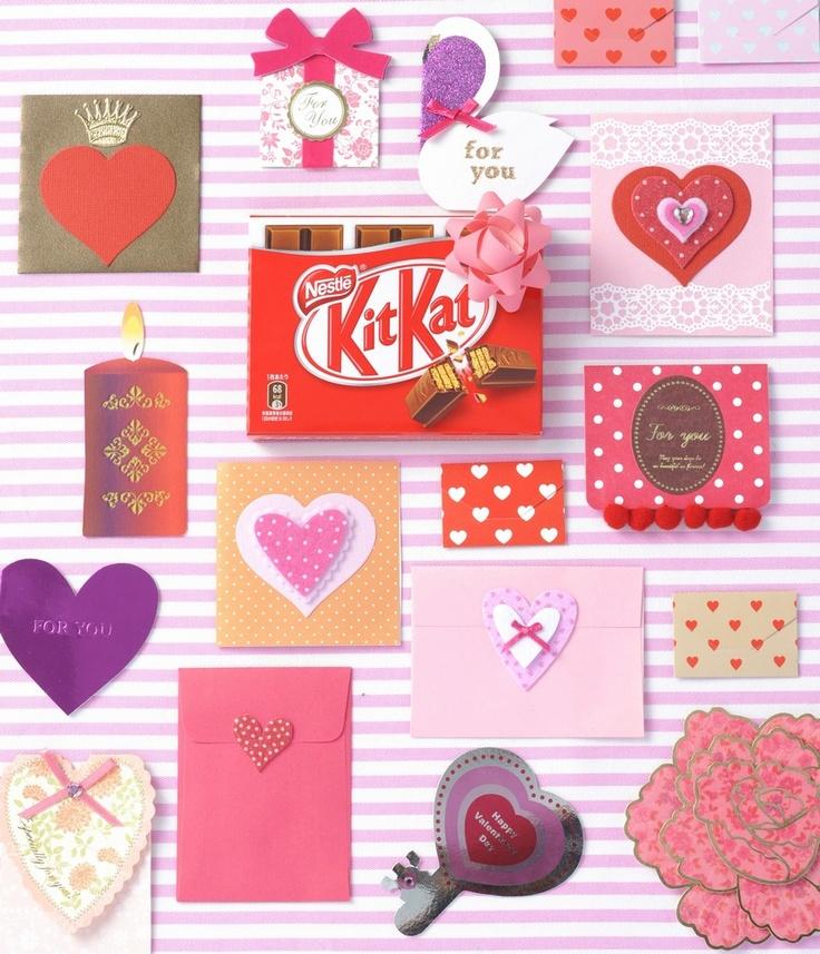 画像A: キットカットでバレンタインの演出を♪  Kit Kat(ネスレ日本 キットカット)