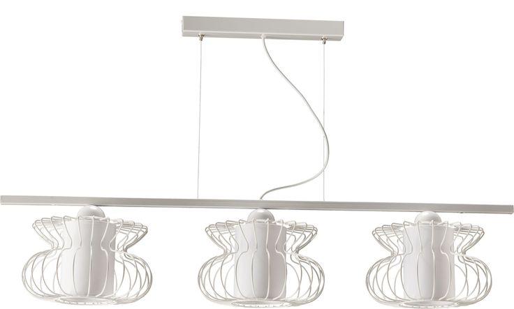 Lampa wisząca VALERIA 3 z abażurem w stylu industrialnym dostępna na naszej stronie www.przystojnelampy.pl   #lampa #wisząca #lamp #lamps #lampy #oświetlenie #styl #industrialny #industrial